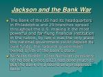 jackson and the bank war2