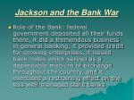 jackson and the bank war3