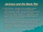 jackson and the bank war4