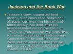 jackson and the bank war5
