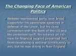 the changing face of american politics11