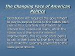 the changing face of american politics17