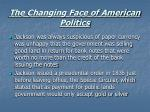 the changing face of american politics18