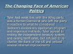 the changing face of american politics30