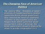 the changing face of american politics33