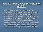 the changing face of american politics34