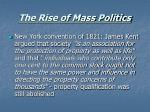 the rise of mass politics5