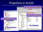 projections in arcgis