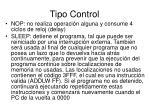 tipo control