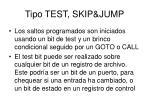 tipo test skip jump