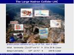 the large hadron collider lhc