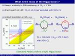 what is the mass of the higgs boson
