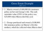 gross estate example slide 1 of 5