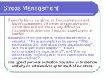 stress management11