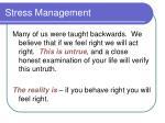 stress management14