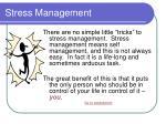 stress management15