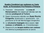 quattro condizioni per realizzare su vasta scala la prevenzione pre primaria e primaria