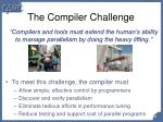 the compiler challenge
