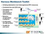 harness workbench toolkit