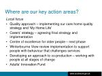 where are our key action areas