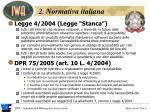 2 normativa italiana
