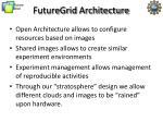 futuregrid architecture1