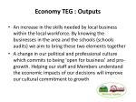 economy teg outputs1