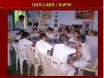 our labs supw