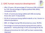 2 ghc human resource development