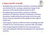 6 improving iec in health