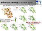 biomass service partner dlr munich