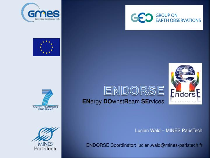 endorse en ergy do wnst r eam se rvices n.