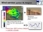 wind service partner 3e belgium