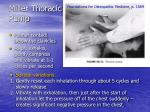 miller thoracic pump