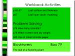 workbook activities