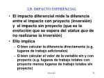 2 b impacto diferencial