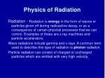 physics of radiation2