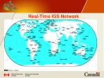 real time igs network