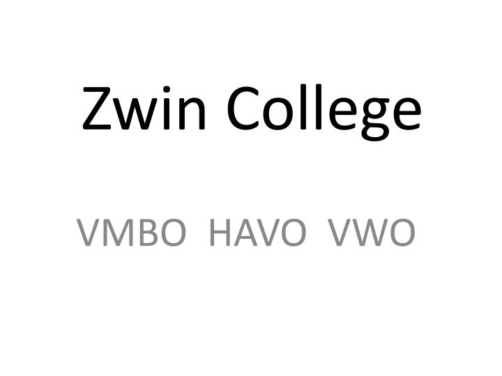 zwin college n.