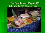 i eur pai leader expo 2009 febru r 26 27 28 m rcius 14