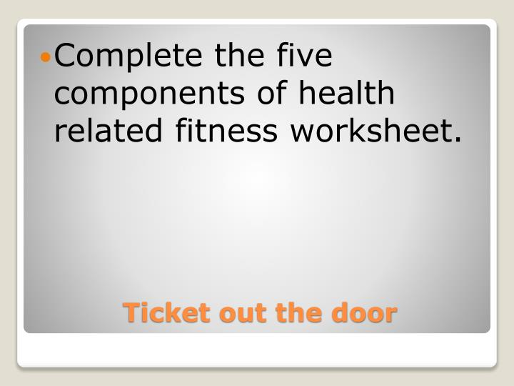 Ppt Health Related Fitness Hrf Powerpoint Presentation Id5612103