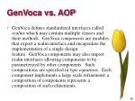 genvoca vs aop1
