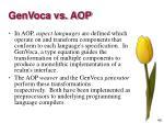 genvoca vs aop3