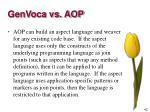 genvoca vs aop5