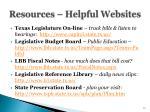 resources helpful websites