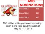 asb nominations