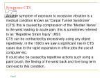 symptoms cts