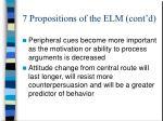 7 propositions of the elm cont d1