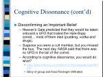 cognitive dissonance cont d1