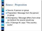 source proposition